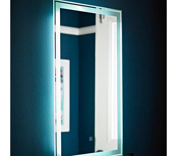 Nuie Premier Glow Touch Sensor 500 x 700mm LED Mirror