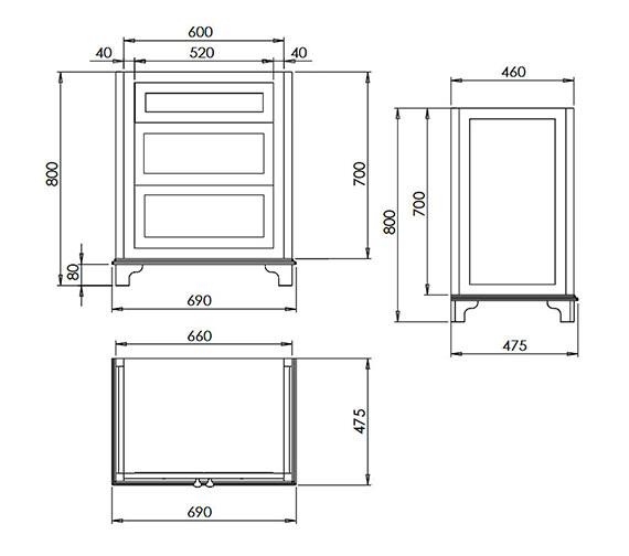 Technical drawing QS-V73462 / XWT0210020