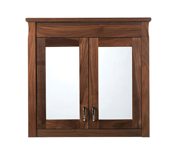 Imperial barrington 2 door wall cabinet with mirrors for Bathroom 2 door wall cabinet
