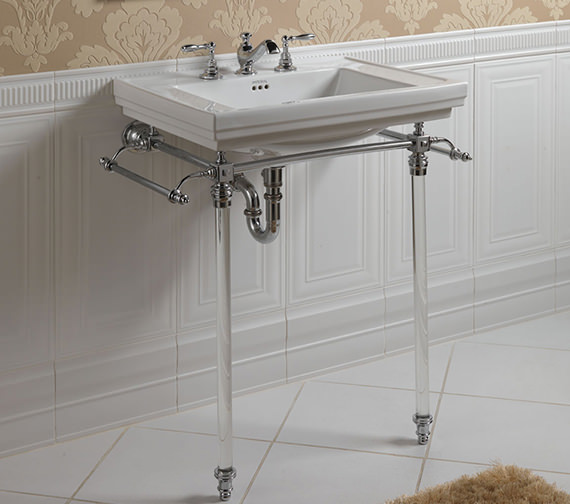 Imperial Hardwick Stand And Astoria Deco Large 640mm Basin