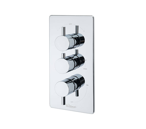 Tre Mercati Bella Concealed Thermostatic 3 Way Diverter Valve - 82073
