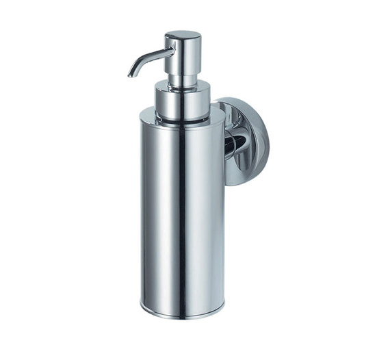 Aqualux Haceka Pro 2500 Metal Soap Dispenser Brushed Nickel - 1190833