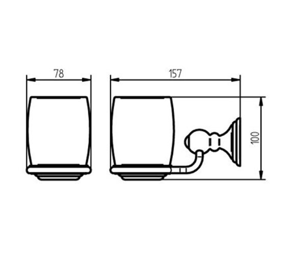 Technical drawing QS-V73636 / 1126171