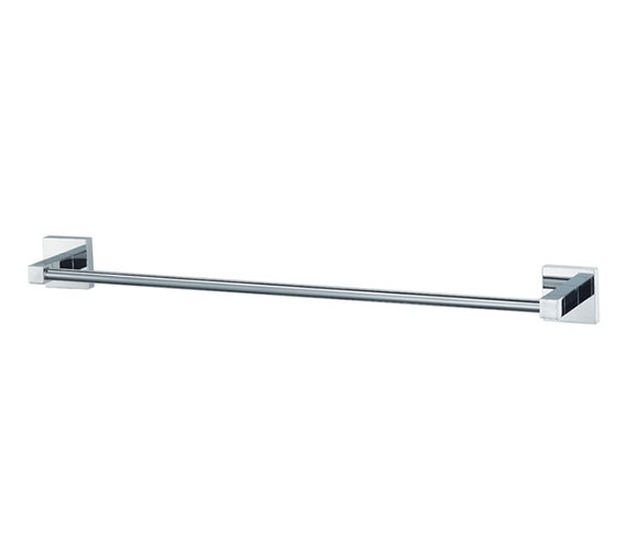 Aqualux Haceka Mezzo 613mm Towel Rail Chrome - 1115282
