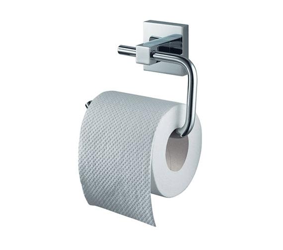 Aqualux Haceka Mezzo Toilet Roll Holder Chrome - 1118010