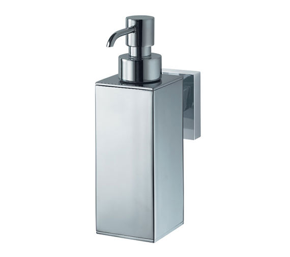 Aqualux Haceka Mezzo Metal Soap Dispenser Chrome - 1122439