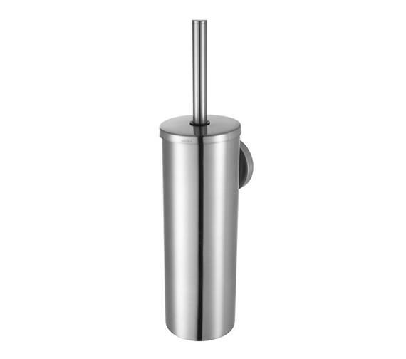 Aqualux Haceka Pro 2500 Metal Toilet Brush Holder Brushed