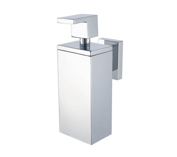 Aqualux Haceka Edge Soap Dispenser Chrome - 1143814