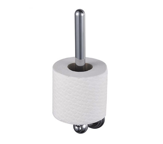 Aqualux Haceka Allure Spare Toilet Roll Holder Chrome - 1126185