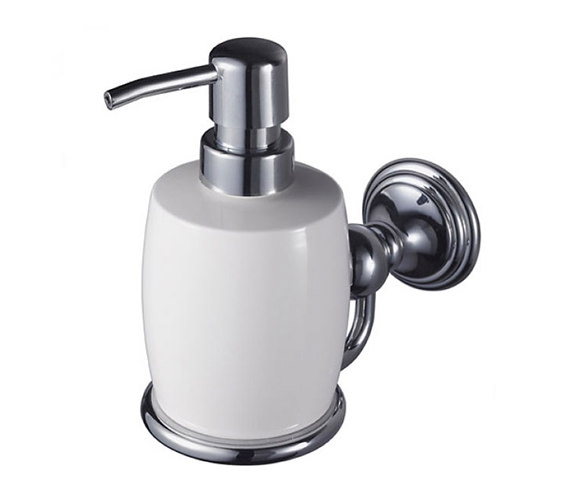 Aqualux Haceka Allure Soap Dispenser Chrome - 1126182