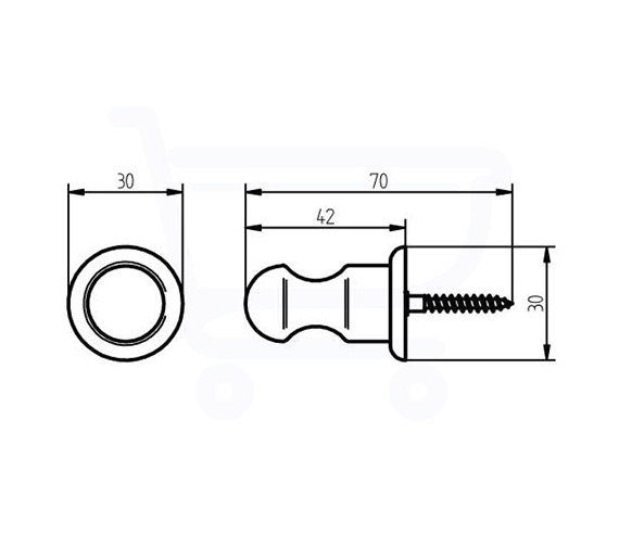 Technical drawing QS-V73689 / 1126179