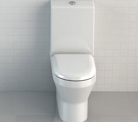 Britton Curve S30 Open Back Close Coupled WC With One Piece Cistern