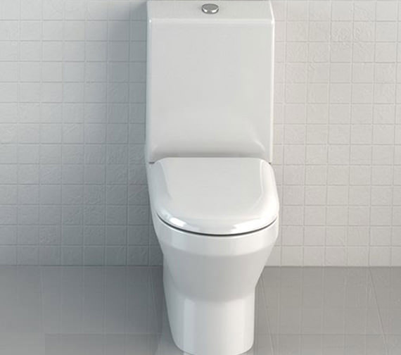 Britton Curve S30 Back To Wall Close Coupled WC With One Piece Cistern - 301957