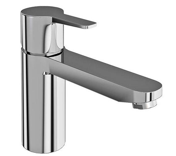Britton Crystal Chrome Single Lever Bath Filler Tap