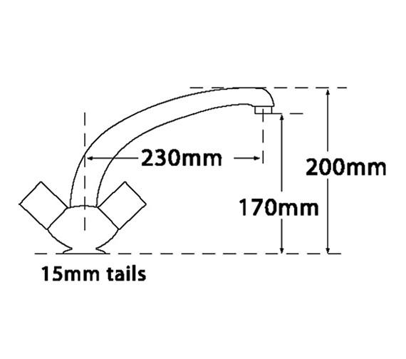 Technical drawing QS-V73942 / 215