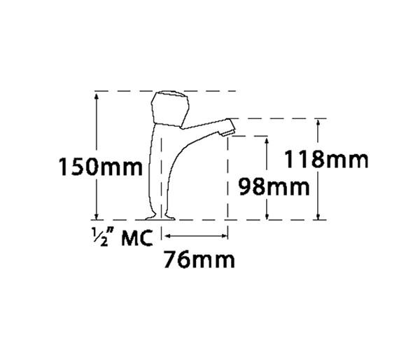 Technical drawing QS-V73954 / 361A