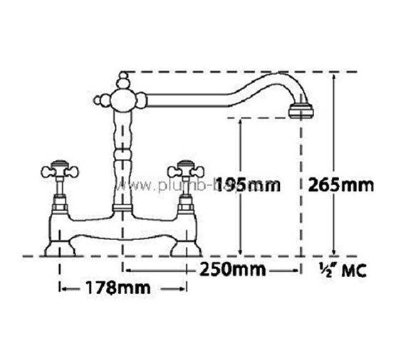 Technical drawing QS-V73955 / 185