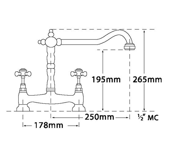 Technical drawing QS-V73956 / 186