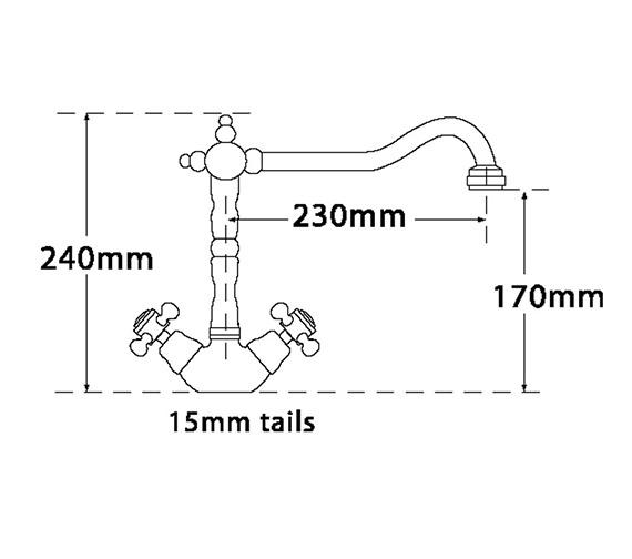 Technical drawing QS-V73960 / 198