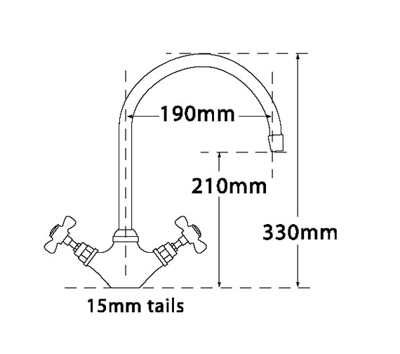 Technical drawing QS-V73966 / 1100