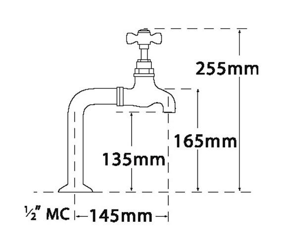 Technical drawing QS-V73978 / 1087B