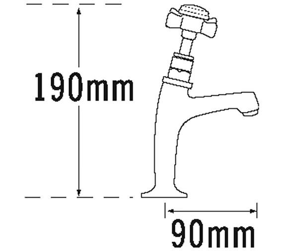 Technical drawing QS-V73980 / 1099