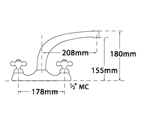 Technical drawing QS-V73985 / 599