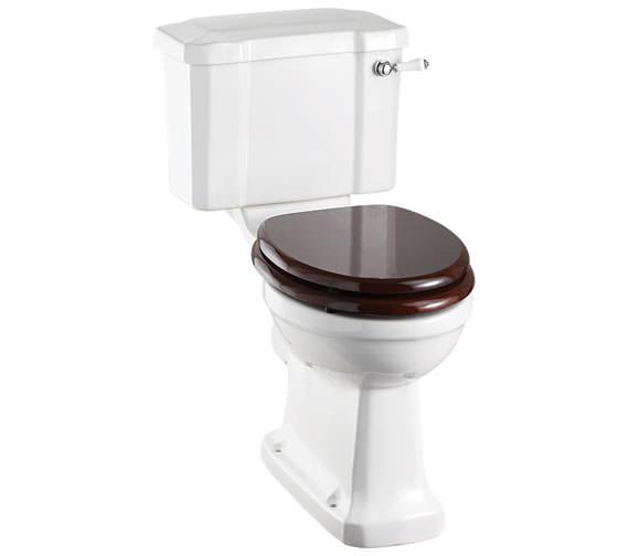 Burlington Regal Slimline Close Coupled WC With Ceramic Cistern Lever