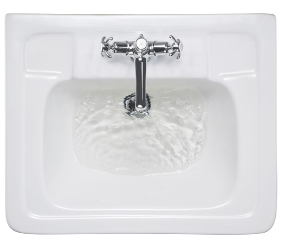 Burlington Contemporary Medium Basin With Semi Pedestal - B1 1TH - P8