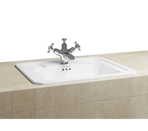 Burlington 540mm Inset Basin - B13 1TH