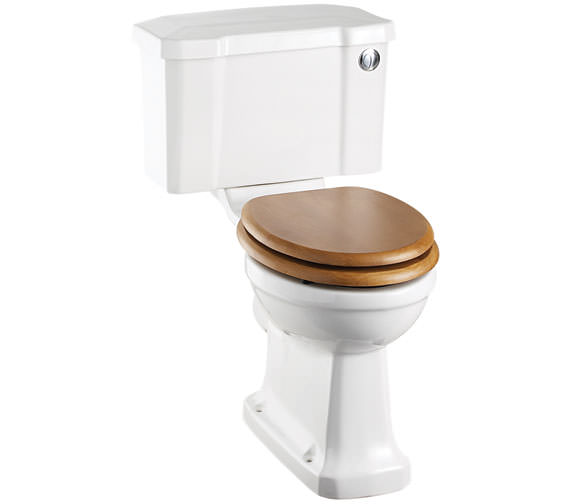 Burlington Closed Coupled WC With Front Button Cistern 730mm - P5 - C2