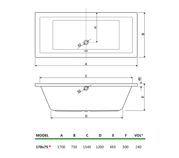 Technical drawing QS-V75016 / 154PLA1775AQMAX