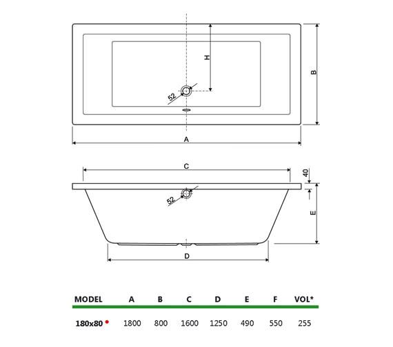 Technical drawing QS-V75023 / 200PLA1880AQMAXCWS08