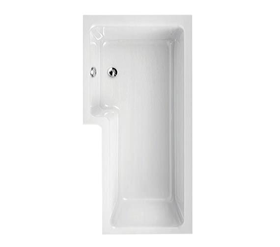 Aquaestil Thames 1700 x 700mm Left Hand Shower Bath - 154THAMESLH