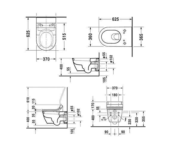 Technical drawing QS-V75062 / 610001002004300