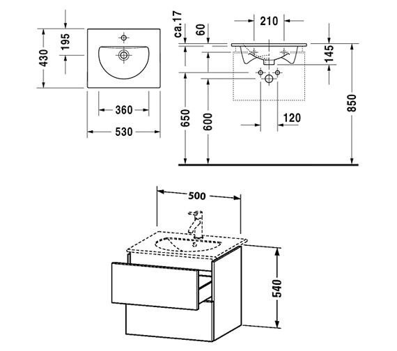 Technical drawing QS-V10803 / DL633002222