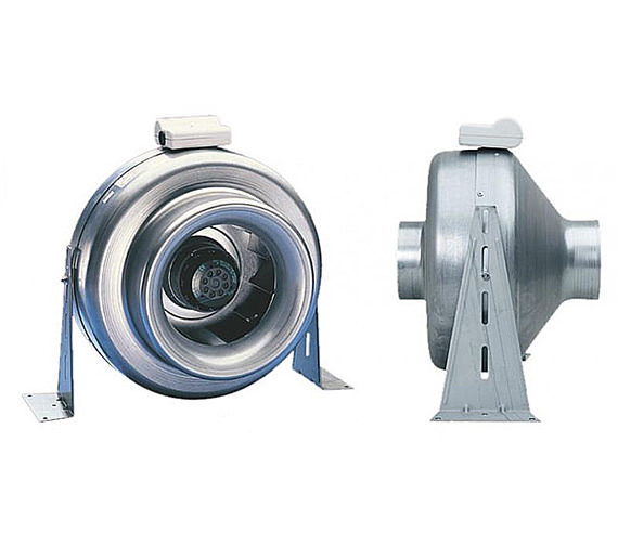 Xpelair xid150 centrifugal metal inline fan 150mm duct 90103aa for In line centrifugal bathroom fan