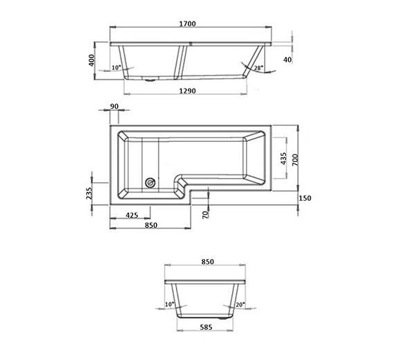 Technical drawing QS-V21538 / BH023S1C
