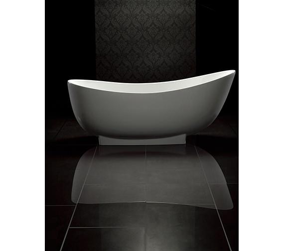 Royce Morgan Black Moonstone Single End Bath 1760 x 780mm