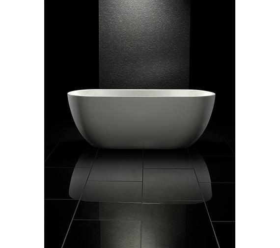Royce Morgan Black Onyx Double Ended Freestanding Bath 1700 x 670mm