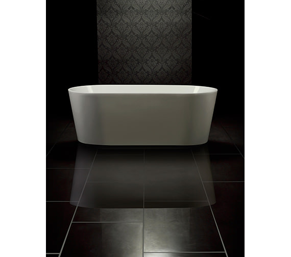 Royce Morgan Black Ruby Luxury Double Ended Bath 1580 x 740mm