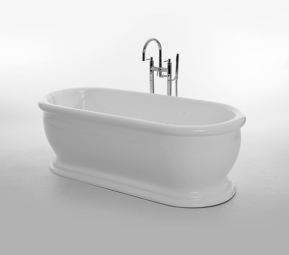 Royce Morgan Traditional Aldo Double Ended Bath 1745 x 790mm