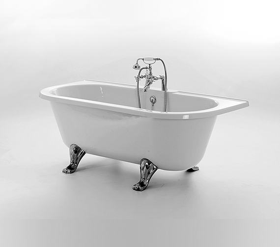 Royce Morgan Balmoral Double Ended Bath 1680 x 730mm With Feet