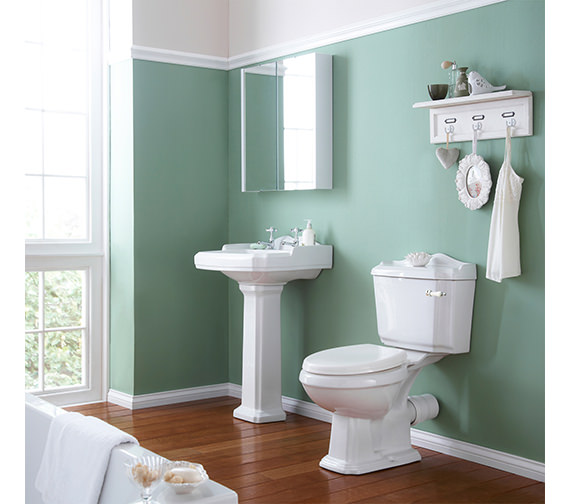 Nuie Premier Legend Basin And Toilet Set