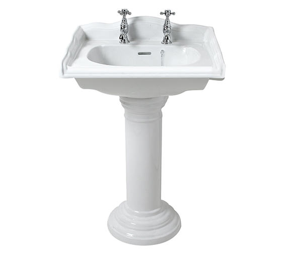 Phoenix Balmoral Square Medium Basin 585mm - BA050S1
