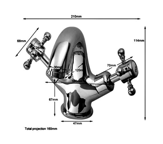 Technical drawing QS-V75853 / HF009