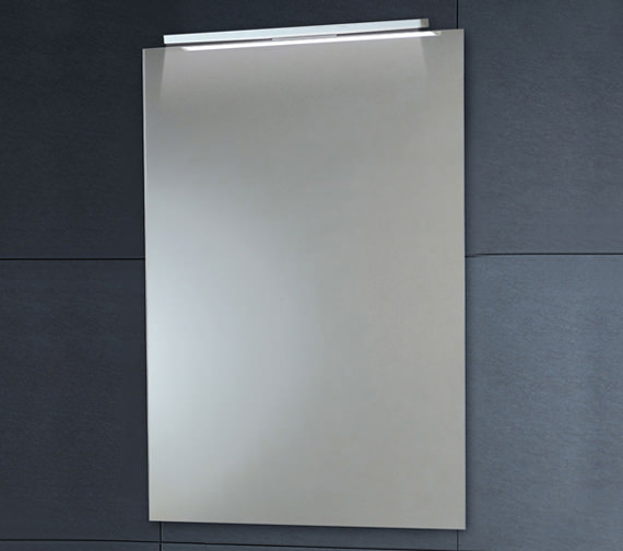 Phoenix Down Lighter Mirror With Demister Pad 450 x 600mm - MI022