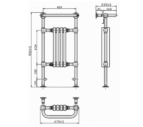 Technical drawing QS-V75909 / RA111