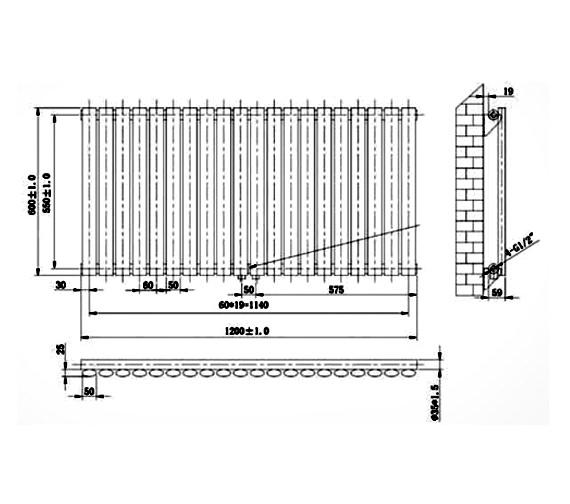 Technical drawing QS-V75913 / RA122