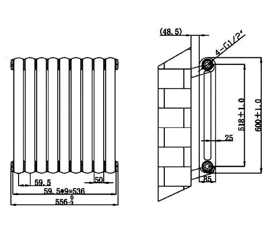 Technical drawing QS-V75926 / RA141